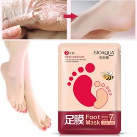 Маска-носки для ног BioAqua Foot Mask, 2 шт (1 пара) (Годность до 08.10.2019)